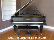 C. Bechstein Grand Piano 1897