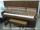 Yamaha MX100 11 (U1) Disklavier Upright